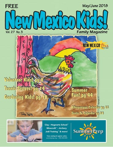 New Mexico Kids! May June 2018