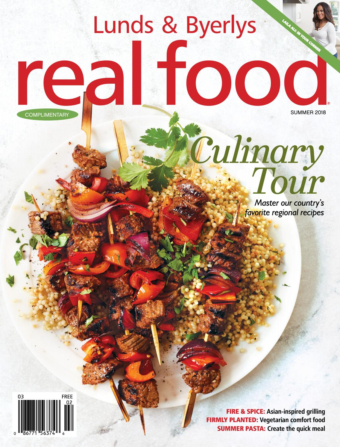 Lunds Byerlys Real Food Summer 2018 By Issuu Tara Omega Q 120