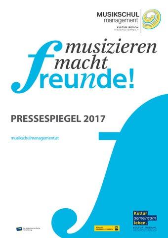 Pressespiegel 2017 By Monica Rütgen Issuu