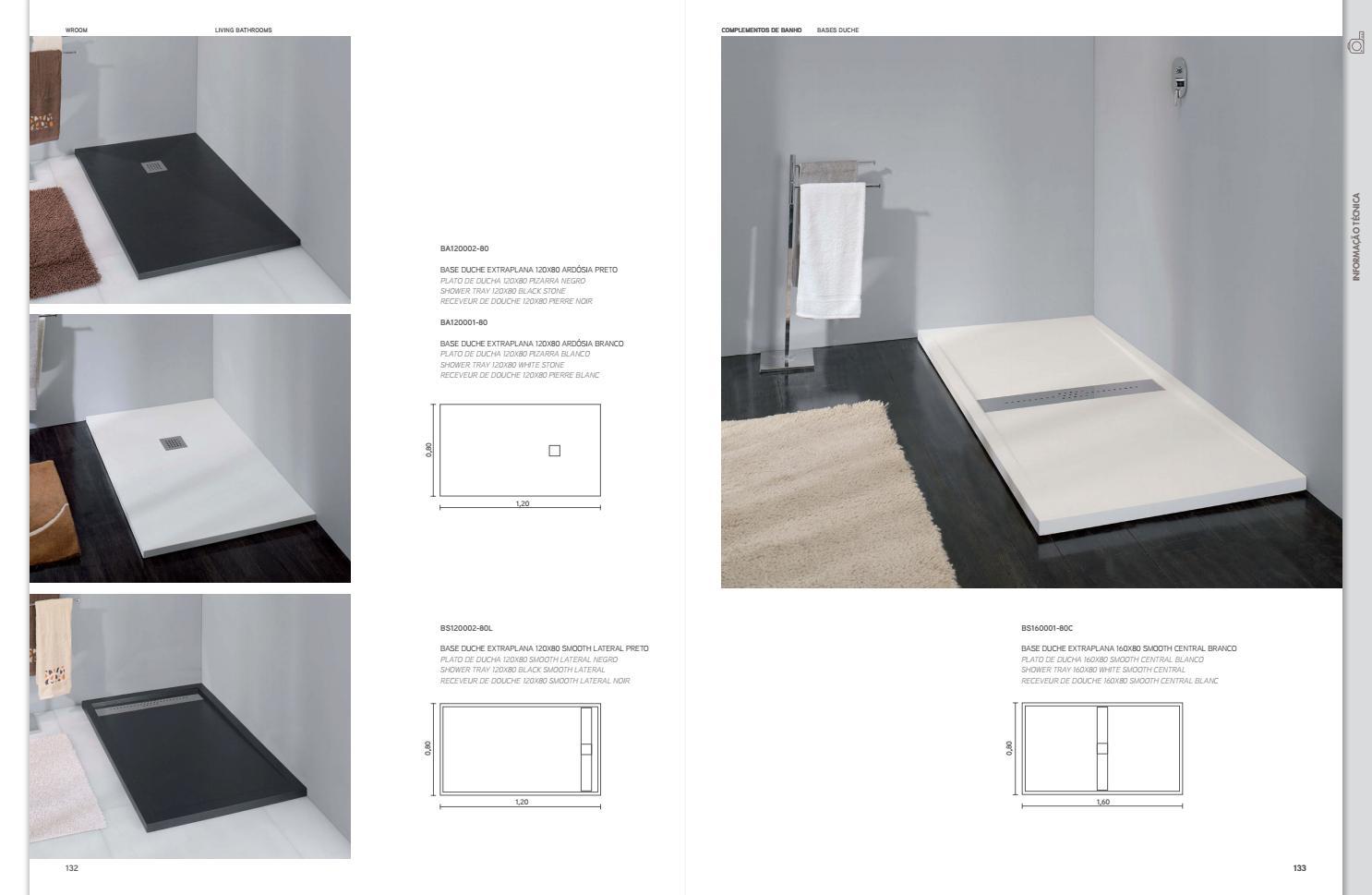 Plato Ducha 120x80.Wroom Catalogo Geral By Mouzinho Issuu