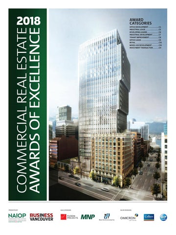 Naiop 2018 Commercial Real Estate Awards By Business In Vancouver - Modern-penthouse-by-altus-architecture-design