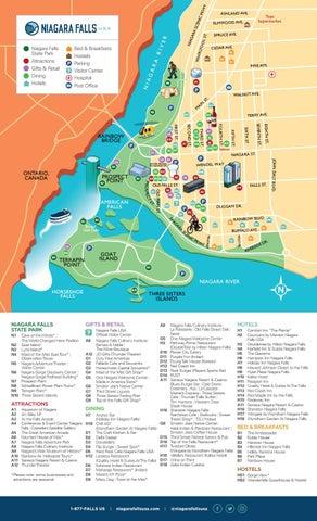Downtown Niagara Falls Usa Walking Map By Destination Niagara Usa