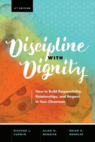 Discipline with dignity 4th ed pdf by Michael Pillsbury - issuu