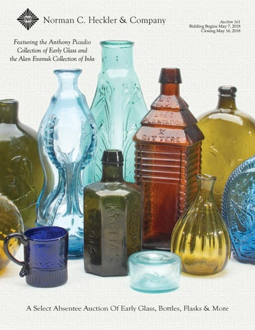 4aa2131dfc20 Norman C. Heckler & Company Select Auction 161: Early Glass, Bottles ...