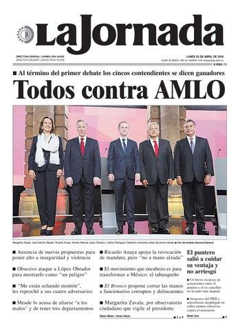 LUNES 23 DE ABRIL DE 2018 CIUDAD DE MÉXICO • AÑO 34 • NÚMERO 12118 •  www.jornada.unam.mx e958528c3a2c0