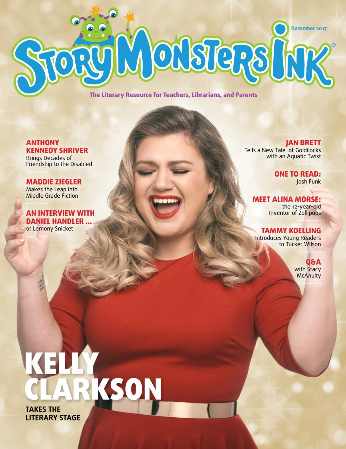 f44829c80c Story Monsters Ink magazine December 2017. This month s features include   Kelly Clarkson Takes the ...