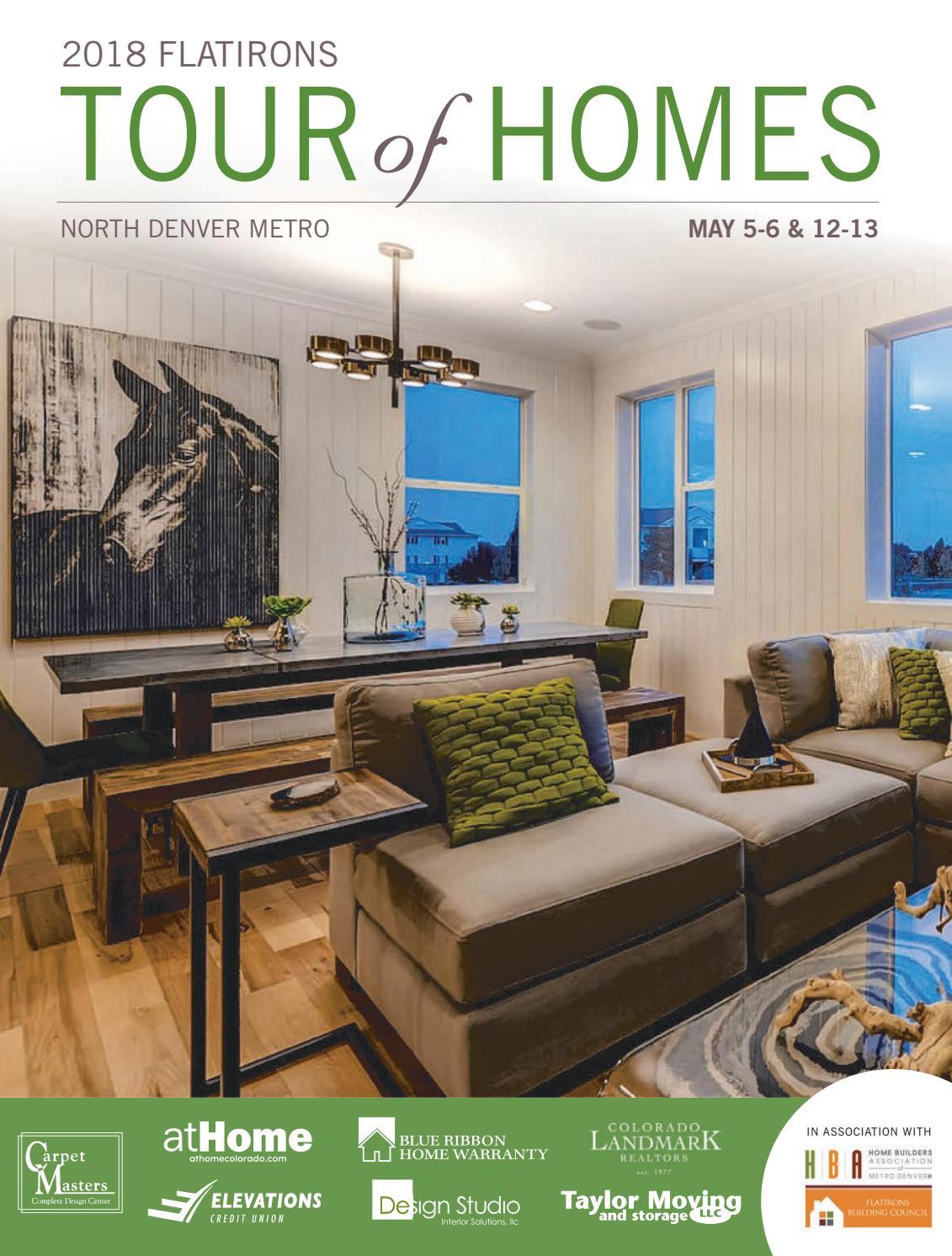 Flatirons Tour Of Homes Guide 2018 By Prairie Mountain Media Issuu