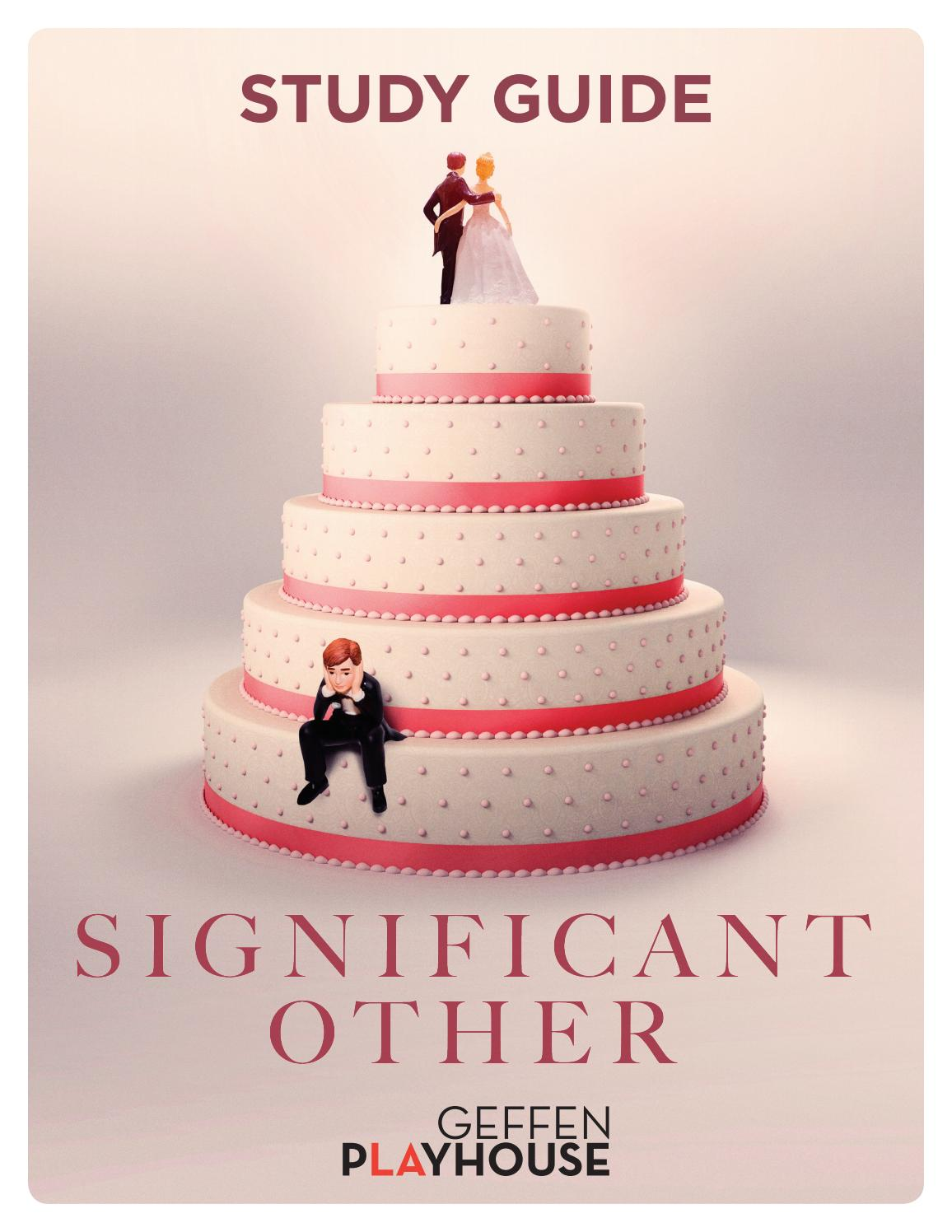 Significant Other Study Guide by Geffen Playhouse - issuu