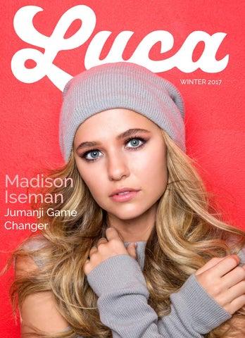 262ffa6333c Luca Magazine - Winter 2017 - Madison Iseman by Luca Magazine - issuu