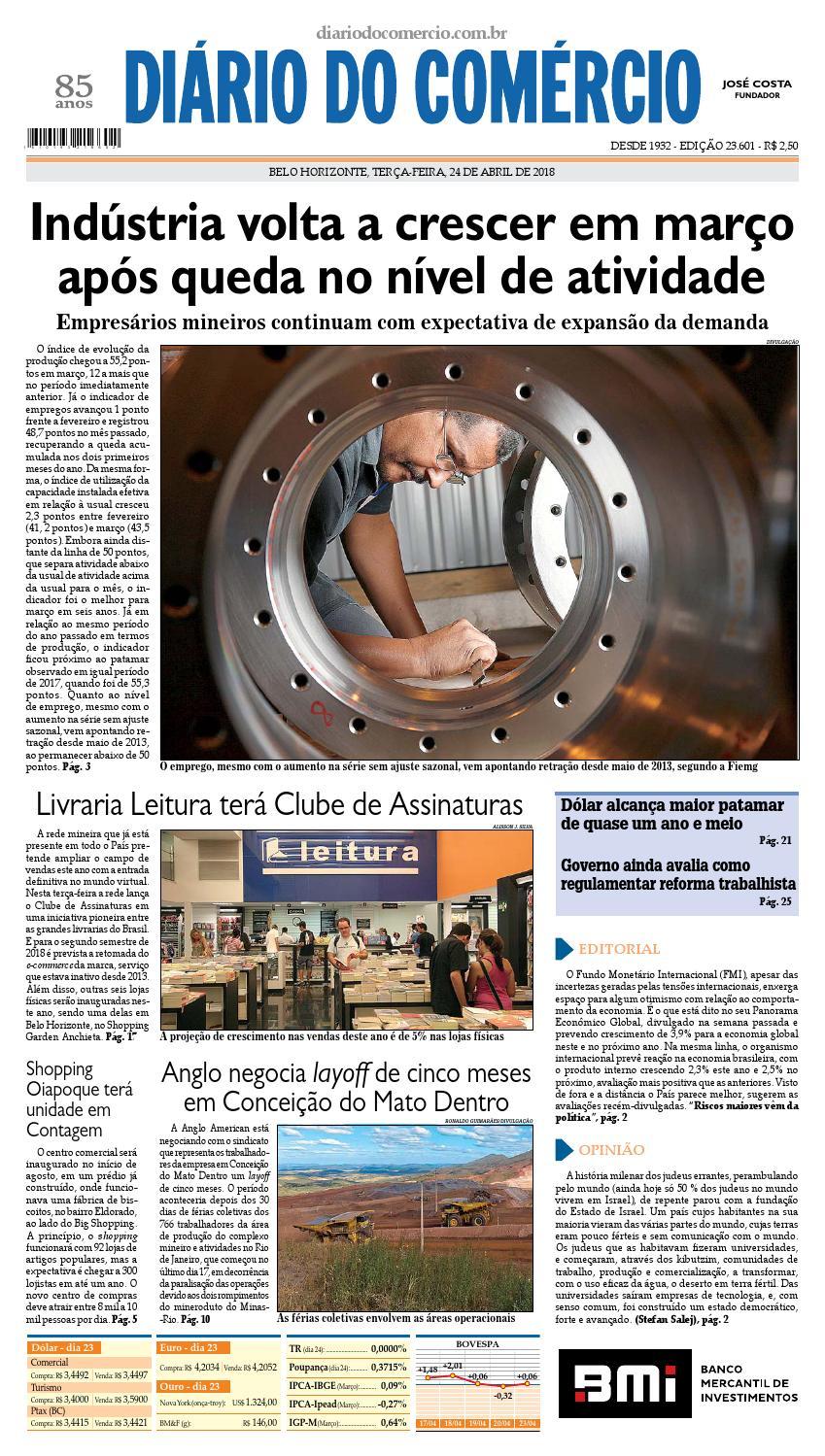 7e8722c165 23601 by Diário do Comércio - Belo Horizonte - issuu