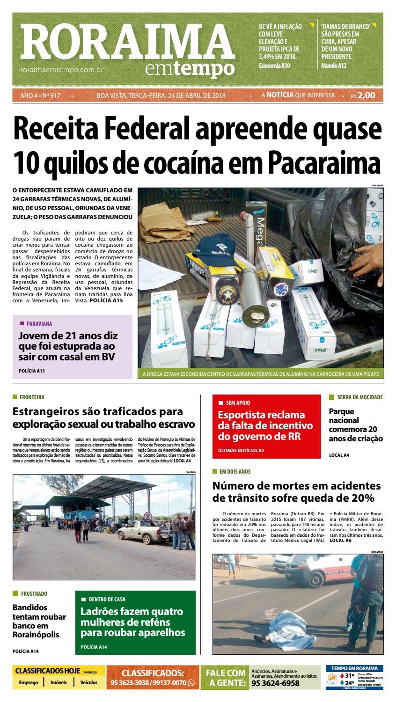 Jornal roraima em tempo – edição 917 by RoraimaEmTempo - issuu 857e4f59358