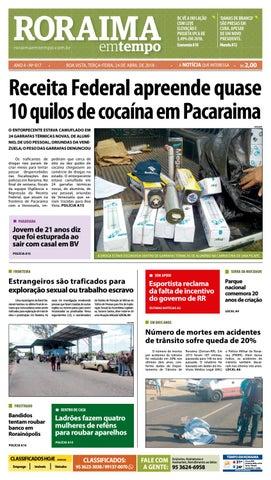 Jornal roraima em tempo – edição 917 by RoraimaEmTempo - issuu 8d685d31af