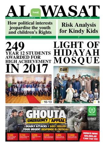 97d35a8e3 April 2018 by Al Wasat Newspaper - issuu