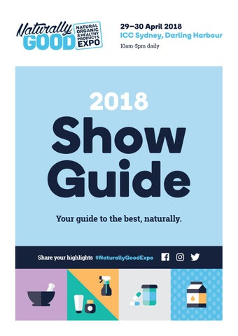 2018 By Fine Good Show Expo Naturally Issuu Guide Food qMzSUGVp