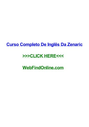 Zenaric curso de ingles download.
