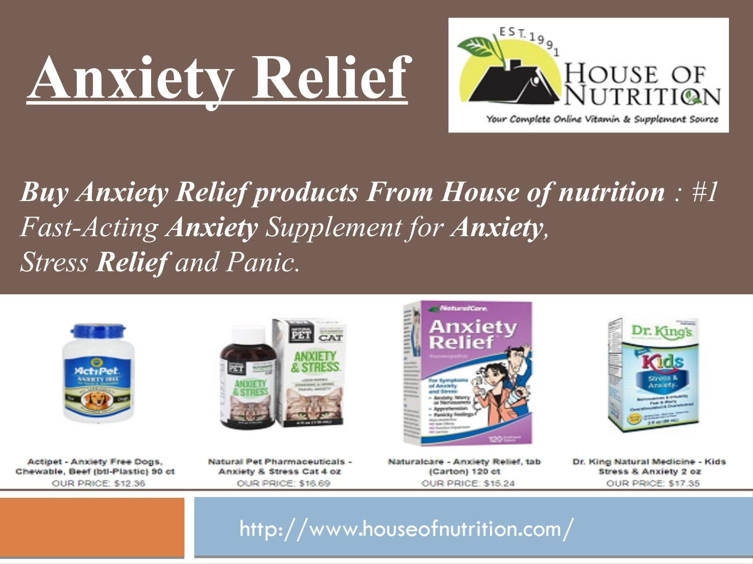 Anxiety relief by houseofnutrition - issuu