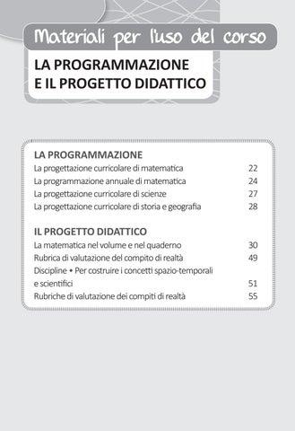 Page 23 of LA PROGRAMMAZIONE E IL PROGETTO DIDATTICO