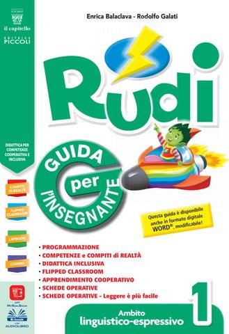 Rudi 1 Guida Per Linsegnante Ambito Linguistico Espressivo By