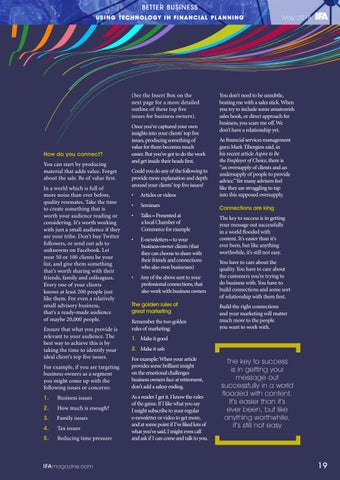 Page 19 of Using Technology In Financial Plannin