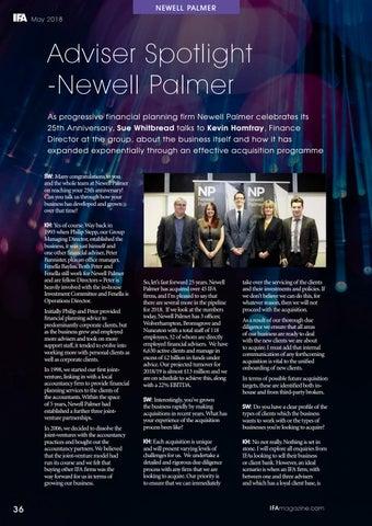 Page 36 of Adviser Spotlight - Newell Palmer
