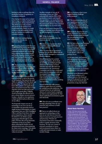 Page 37 of Adviser Spotlight - Newell Palmer