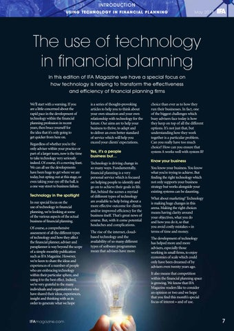 Page 7 of Using Technology In Financial Planning