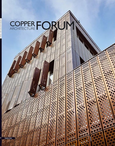 Copper Architecture Forum 2018 44 English By Green And Healthy Buildings Issuu