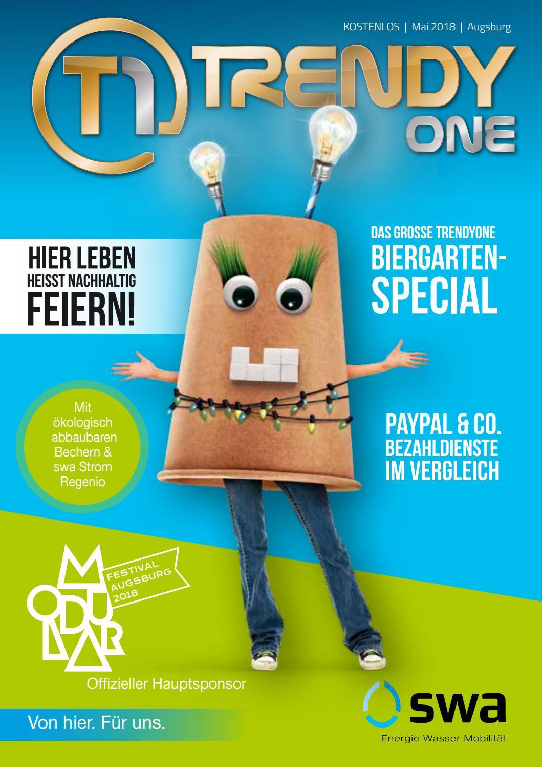TRENDYone | Das Magazin - Augsburg - Mai 2018 by ad can do GmbH & Co. KG -  issuu