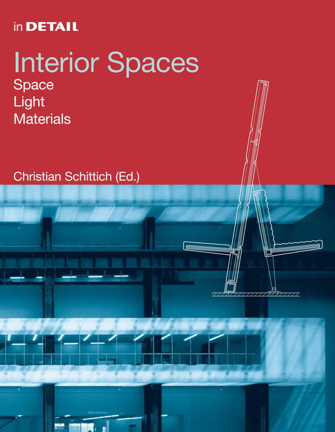 Interior Spaces by DETAIL - issuu