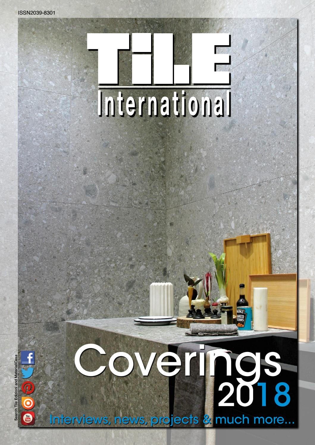 Tile International 1/2018 By Tile Edizioni   Issuu