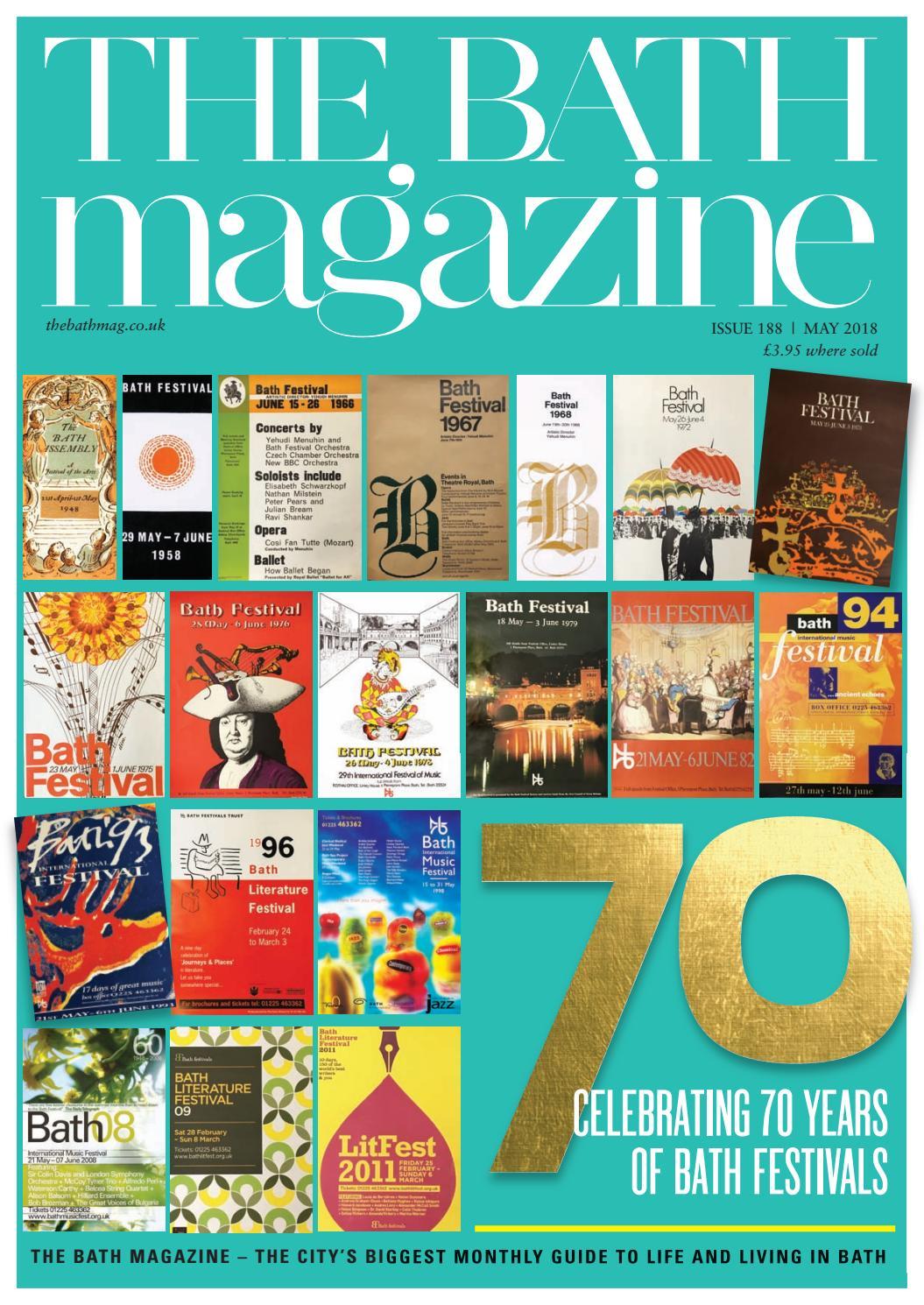 The Bath Magazine May 2018 by MC Publishing - issuu