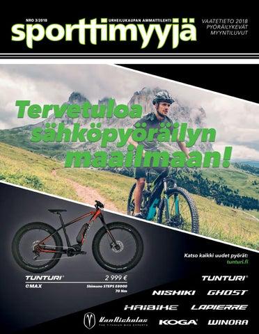 Sporttimyyjä 3 2018 by Sporttimyyja - issuu edd01b2301