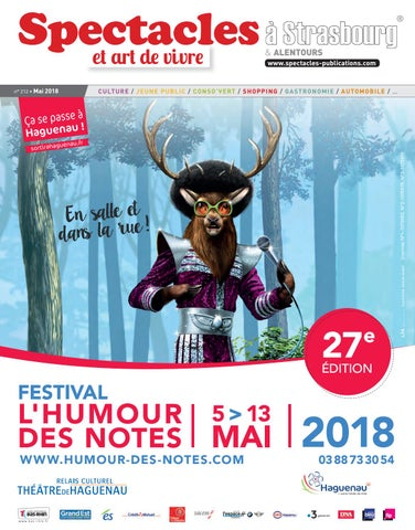 2018 By Spectacles Publications Strasbourg Mai N°212 QxoEBeWrdC
