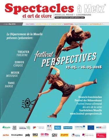 29dab74040b12b Spectacles Publications Metz n°300 / Mai 2018 by SPECTACLES ...