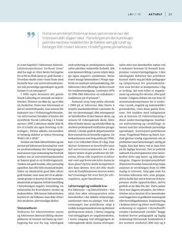 Page 25 of Lektor - en tittel til besvær