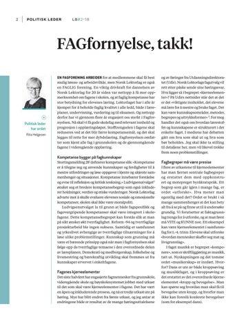 Page 4 of FAGfornyelse, takk!