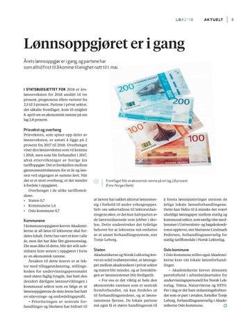 Page 7 of Forslag til ny pensjonsavtale og informasjon om lønnsoppgjøret