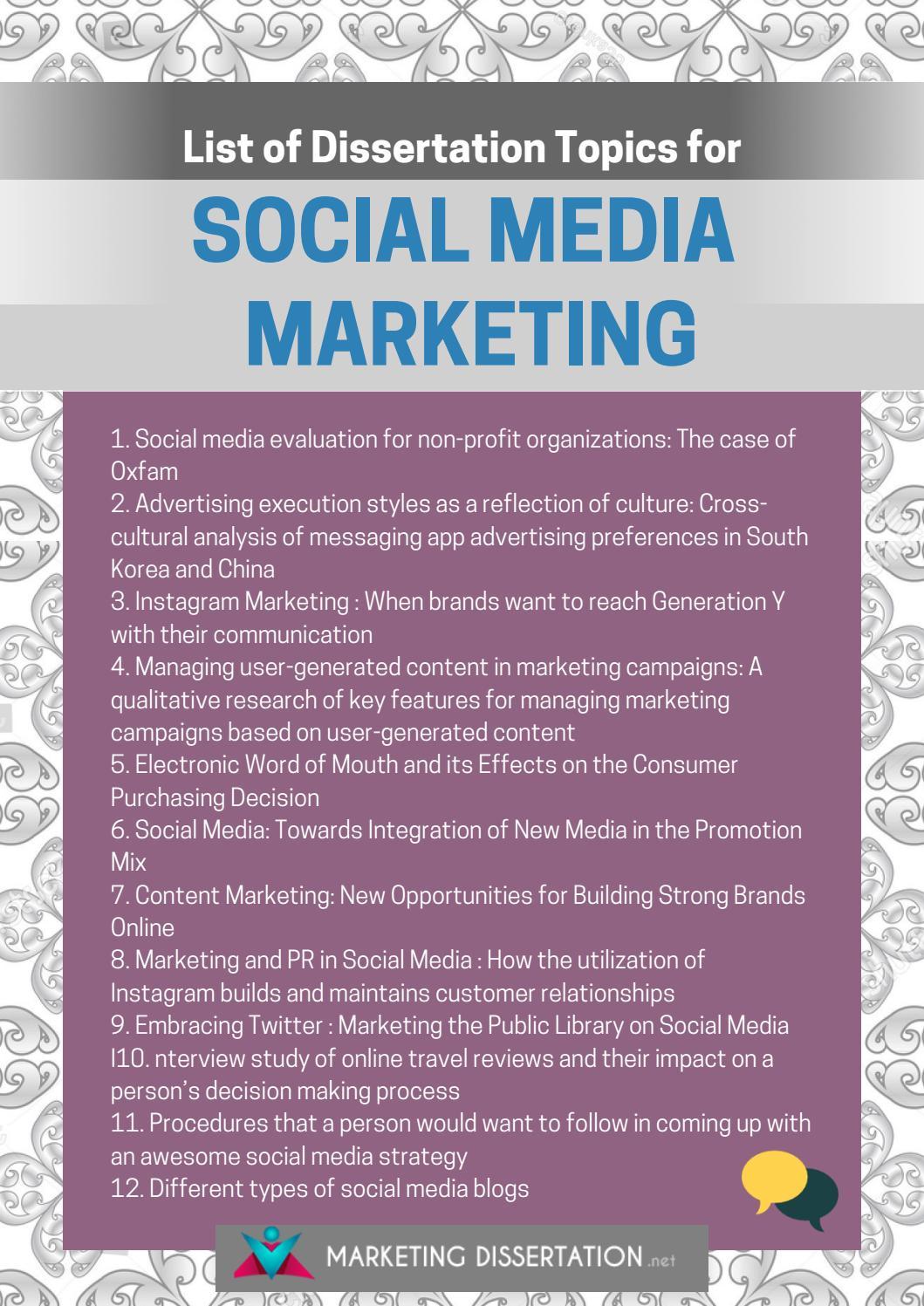 Dissertation on media reviel