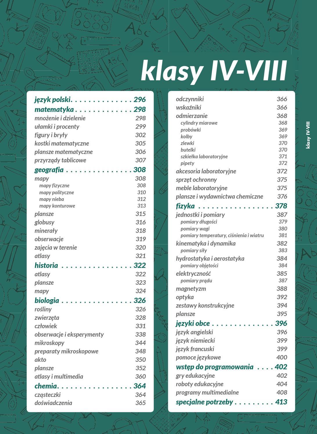 Ns Szkola 2018 Mini 03 Klasy Iv Viii By Nowa Szkola Issuu