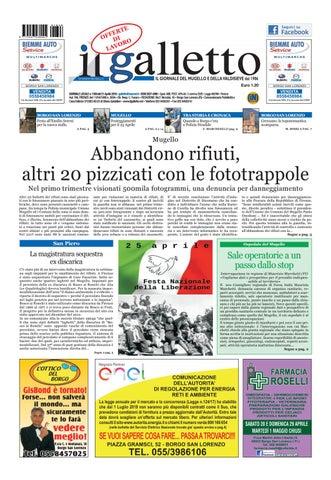 Galletto 1350 del 21 aprile 2018 by Il Galletto Giornale - issuu 7e786926a9b