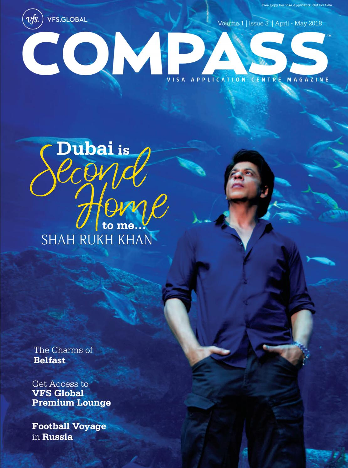 Vfs Global Compass India Edition April May 2018 By Vfsglobal Compass Issuu