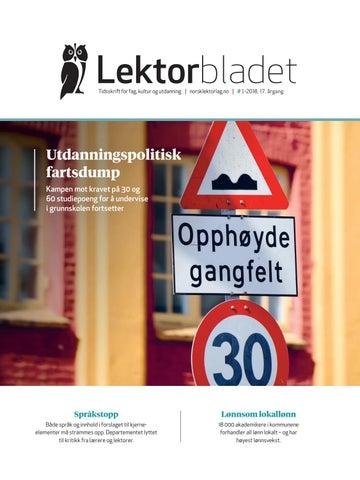 7f817a340 Lektorbladet #1 2018 by Lektorbladet - issuu