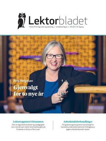 34d916a9 Lektorbladet #6 2017 by Lektorbladet - issuu