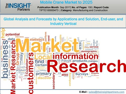 Mobile crane market by The Insight Partners - issuu