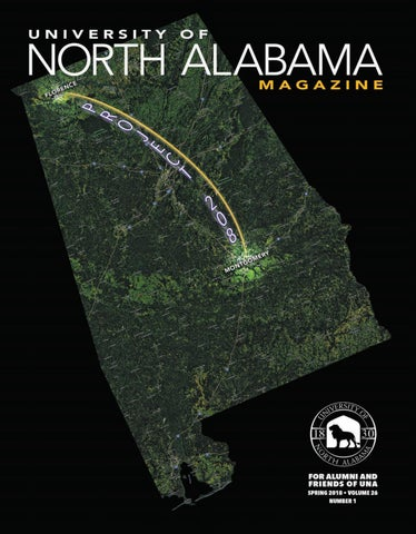 Una Magazine Spring 2018 By University Of North Alabama