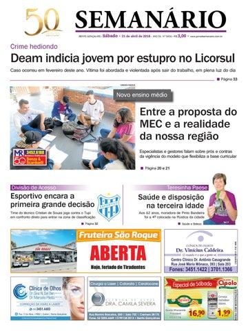 2604439a5046e Jornal Semanário – 21 de abril de 2018 – Ano 51 – Nº 3431 by Jornal ...