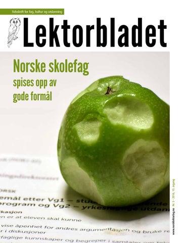 ae43cf074 Lektorbladet #5 2016 by Lektorbladet - issuu