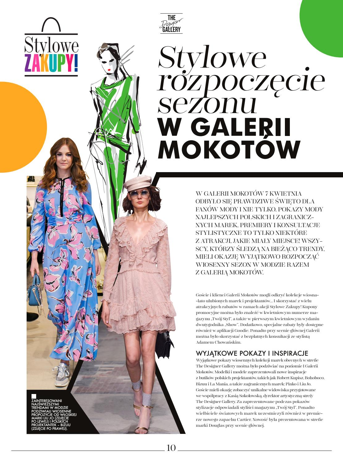 9644d4be THE LOOK wiosna 2018