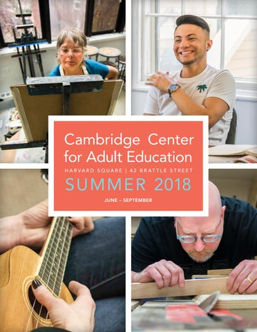 adult learning Cambridge