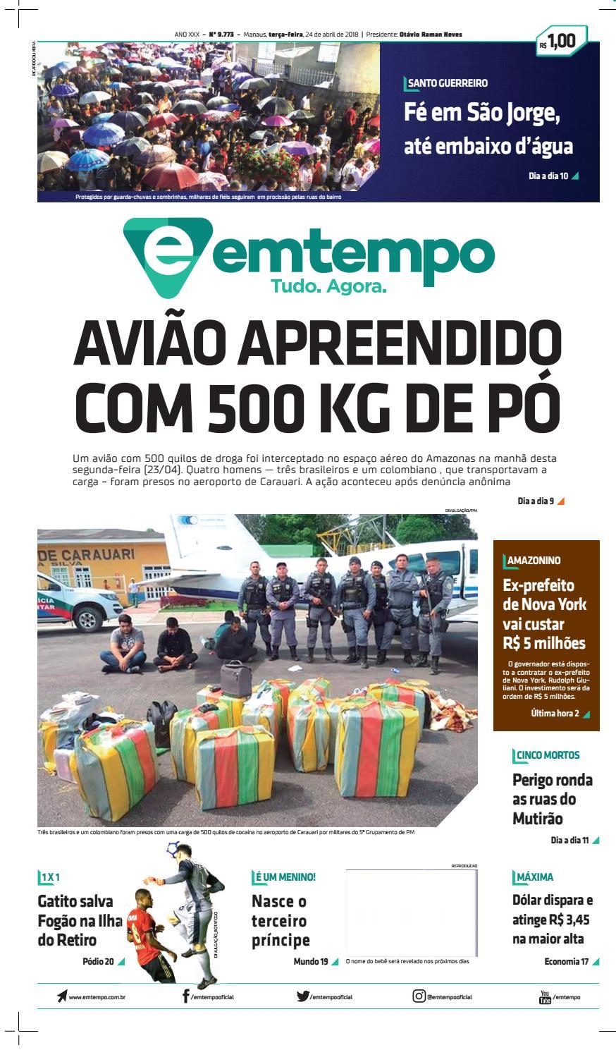 475a9631343 Em tempo 24 de abril de 2018 by Amazonas Em Tempo - issuu